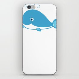 Whale Whale Gift iPhone Skin