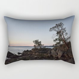 Pilkey Point Sunset Rectangular Pillow