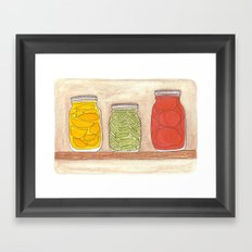 Canning Framed Art Print