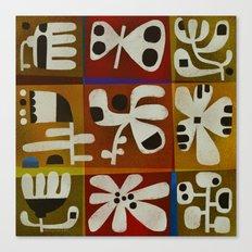TIC TAC ART Canvas Print