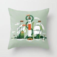 Sea of Adventure Throw Pillow