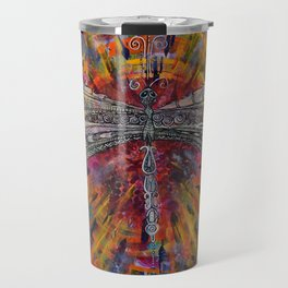 Mandala Dragon Travel Mug