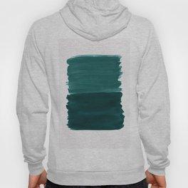 Dark Teal Emerald Abstract Minimalism #3 #minimal #ink #decor #art #society6 Hoody