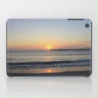 peru iPad Cases featuring Sunset at Peru by Deneb Curiel
