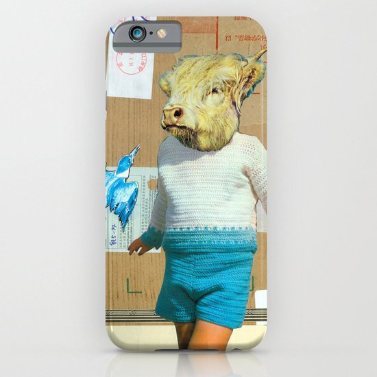 Young Minotaur iPhone & iPod Case