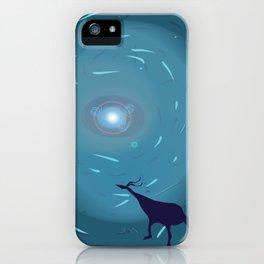 Curious portal iPhone Case