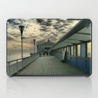 theatre iPad Cases featuring Pier Theatre, Bournemouth by Roboz