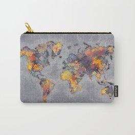 world map 111 #worldmap #world #map Carry-All Pouch