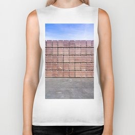 Another Brick For The Wall Biker Tank