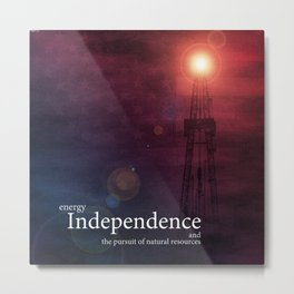Energy Independence Metal Print