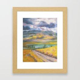 Tuscan Landscape Framed Art Print