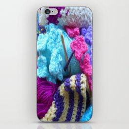 For the love of crafting iPhone Skin