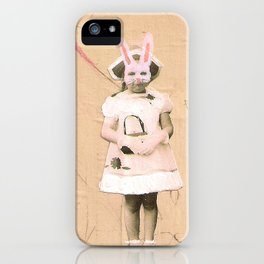 Imaginary Friends- Bunny iPhone Case