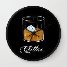 Chillax Wall Clock