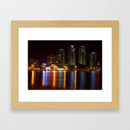 Ilgwang-myeon beach, South Korea Framed Art Print