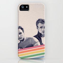 Technicolor Icons iPhone Case