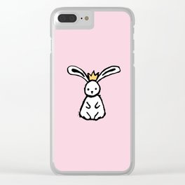 Bunny Princess - small Clear iPhone Case
