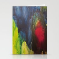 broken Stationery Cards featuring Broken by Benito Sarnelli