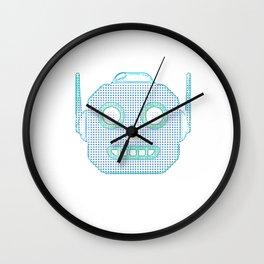 Robot Emoji Wall Clock