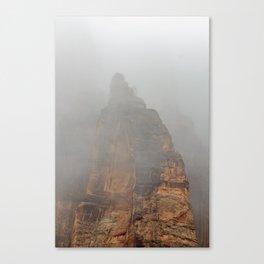 Into the Mist Canvas Print
