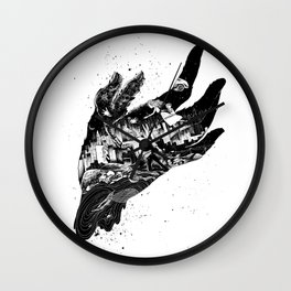 Six Fingers & City Life Wall Clock