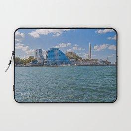 Crimea Russia Sevastopol Bay Marinas Houses Cities Pier Berth Building Laptop Sleeve