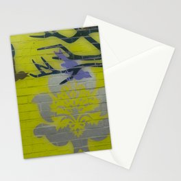 Wall Art Remix Yelllow Stationery Cards