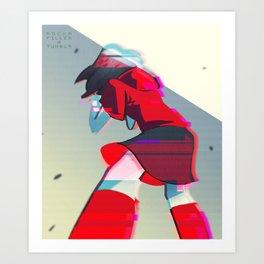 Scream Out Art Print