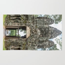 Leaving Through the Angkor Thom South Gate, Siem Reap, Cambodia Rug