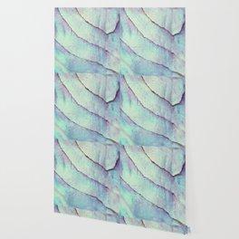 IRIDISCENT SEASHELL MINT by Monika Strigel Wallpaper