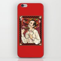 nouveau iPhone & iPod Skins featuring GOB Nouveau by castlepöp