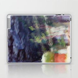 Through the window: Soft colors abstract Laptop & iPad Skin