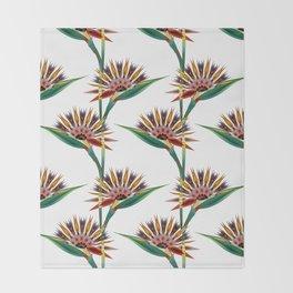 Strelitzia 1 Throw Blanket