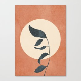Summer Leaves Canvas Print