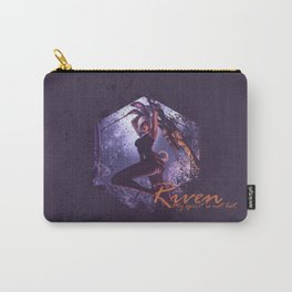 Bunny Riven my spirit is not lost  Carry-All Pouch