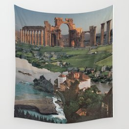 Where the ruins are Wall Tapestry