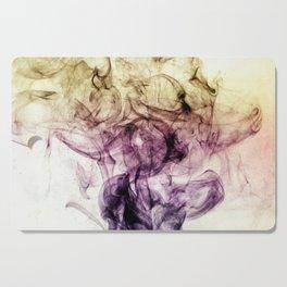 Beautiful Purple Brown Smoky Dust Cutting Board