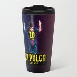 Lionel Messi - La Pulga Travel Mug