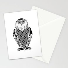 Snowy Art Deco Stationery Cards