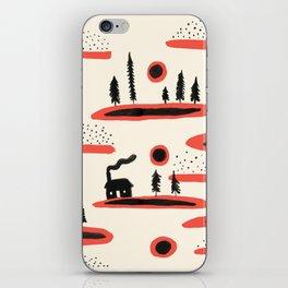 Woodland Cabin iPhone Skin