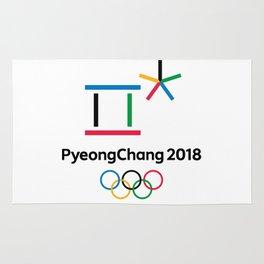 PyongChang 2018 Logo Rug