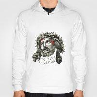 jesus Hoodies featuring Jesus by mothermary