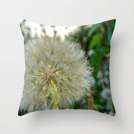 Seed Head flower Throw Pillow