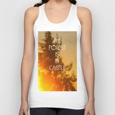 The forest Unisex Tank Top