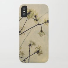 Spring Branches in White Botanical Slim Case iPhone X