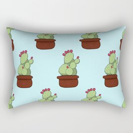 Cheery Cactus Rectangular Pillow