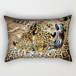 Momma's Boy Rectangular Pillow