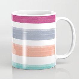 Plaid Paint Stripe Coffee Mug