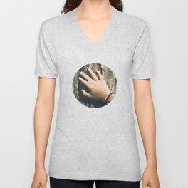 Hand Paquerette Unisex V-Neck