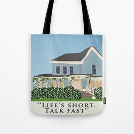 Gilmore house in spring Tote Bag